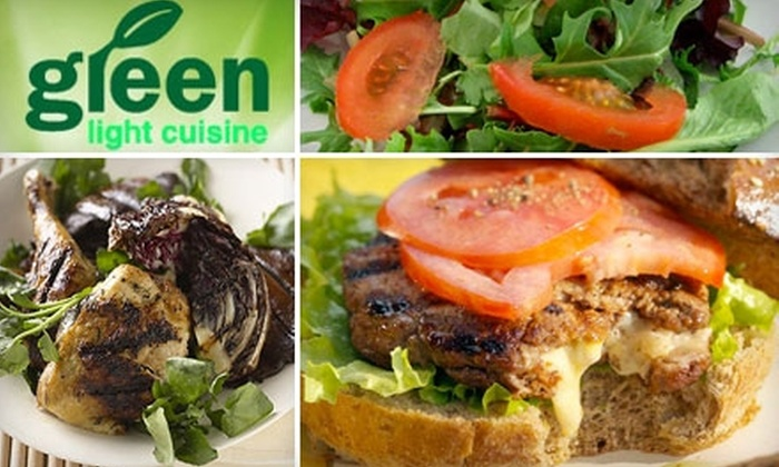 Green Light Cuisine - Bronxdale: $10 for $20 Worth of Organic Salads, Wraps, Juices, and More at Green Light Cuisine