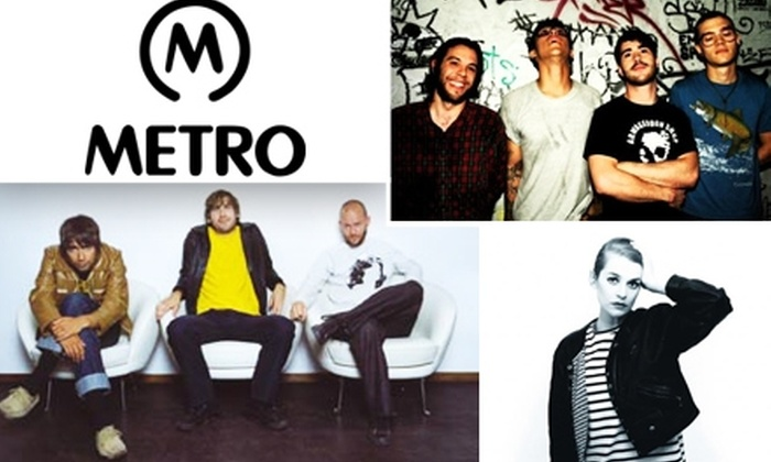 Metro Chicago - Lakeview: $10 for $20 Tickets to See Peter Bjorn & John, El Perro Del Mar, and Yourself and the Air at Metro on November 12