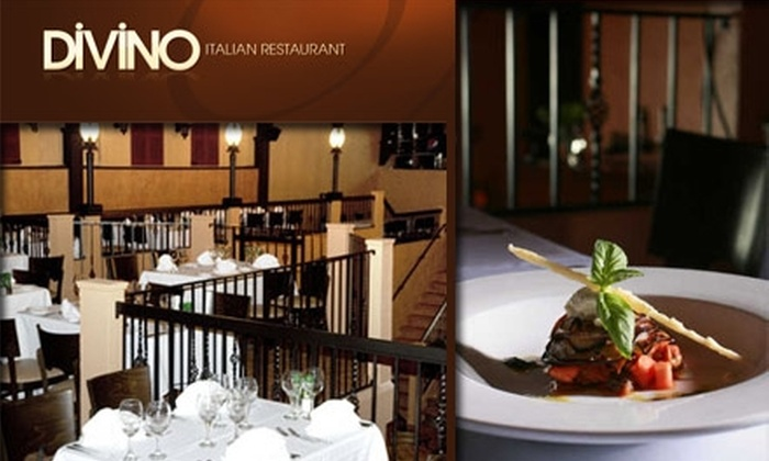 Divino - Clearwater: $10 for $25 Worth of Italian Cuisine and Drinks at Divino