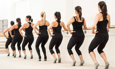 $49 for 45 Days of Unlimited Classes at The Bar Method ($103.50 Value)