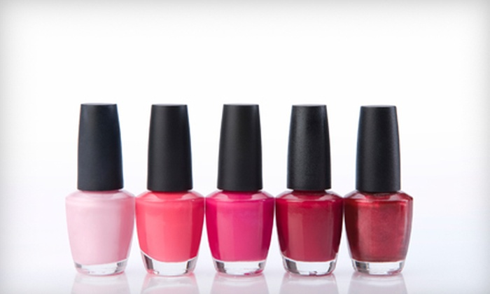 Caruso and Company Nail Spa - Conway: $40 for a Shellac Mani-Pedi at Caruso and Company Nail Spa in Conway ($90 Value)