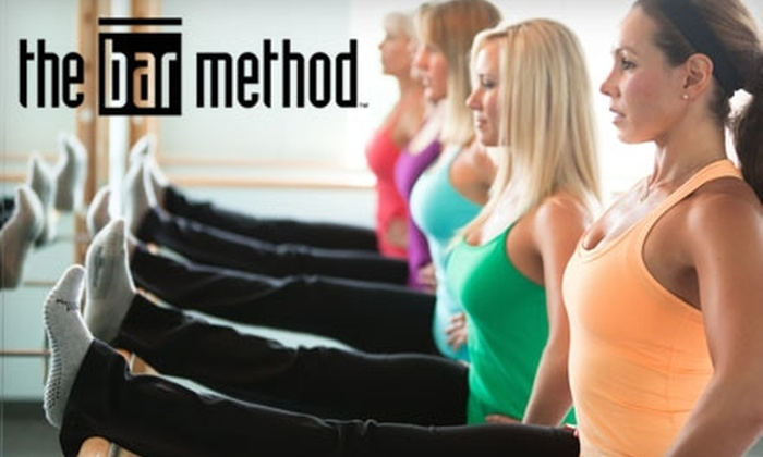 The Bar Method - Downtown Redmond: $22 for Two One-Hour Fitness Classes at The Bar Method
