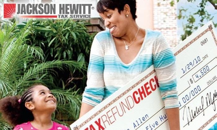 Jackson Hewitt Tax Service Detroit - Multiple Locations: $69 for $200 Worth of Tax Services at Jackson Hewitt