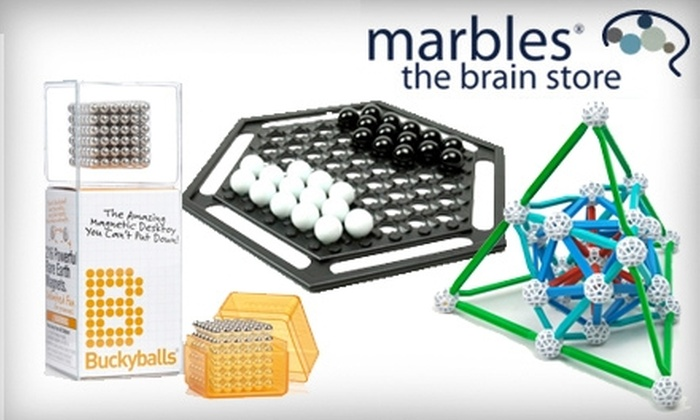 Marbles: The Brain Store: $20 for $40 Worth of Merchandise from Marbles: The Brain Store