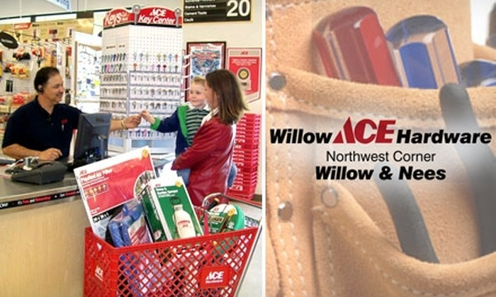 Willow ACE Hardware - Woodward Park: $10 for $20 Worth of Anything You Need at Willow Ace Hardware