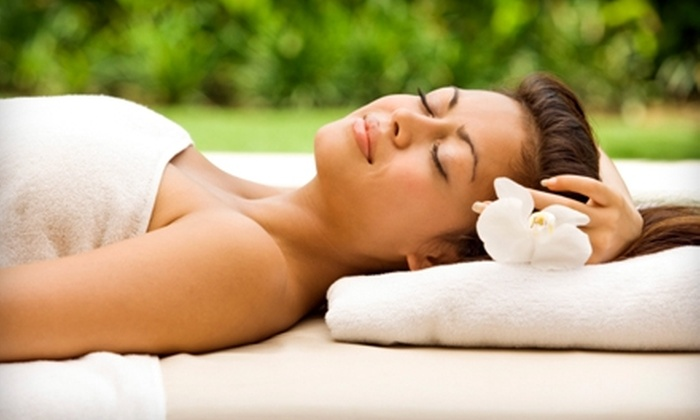 Cora Bella's Salon & Spa - Kannapolis: $37 for a Spa Manicure and Pedicure ($80 Value) or $37 for an Aveda Elemental Nature Massage ($75 Value) at Cora Bella's Salon & Spa in Kannapolis