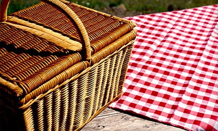 Niche Wine Lounge - Holly Springs: $40 for a Gourmet Picnic Basket for Two at Niche Wine Lounge in Holly Springs ($82.85 Value)