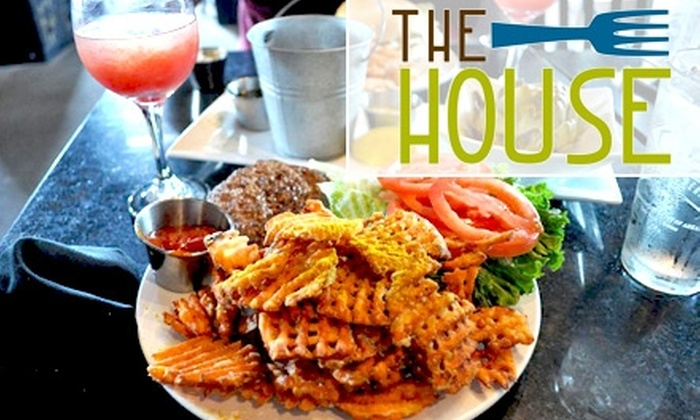 The House - Hillcrest: $10 for $20 Worth of Fresh American Fare at The House