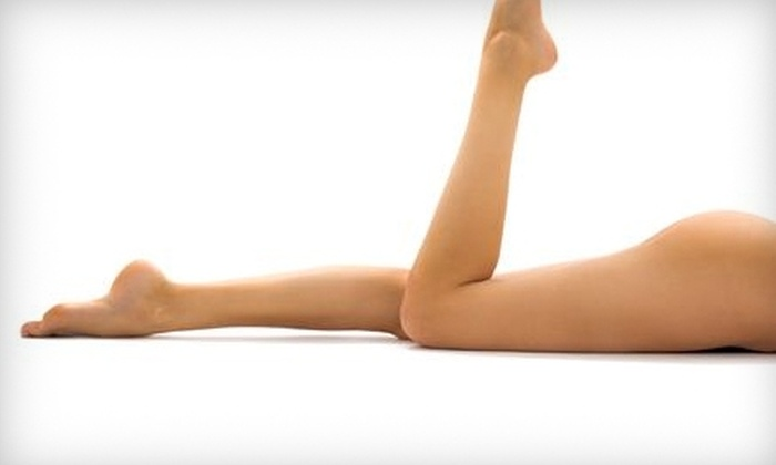 Amerejuve - Multiple Locations: $150 for Three Laser Hair-Removal Treatments for One Area at Amerejuve (Up to $657 Value)