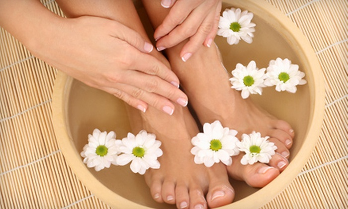 Art's Nails and Tan II and Orchid Nails and Spa - Multiple Locations: Classic or Deluxe Mani-Pedi at Art's Nails and Tan II or Orchid Nails and Spa in Smyrna