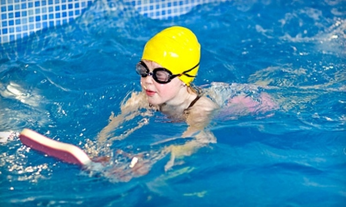 WaterWorks - Multiple Locations: $42 for Eight Kids' Swimming Lessons at WaterWorks ($85 Value)