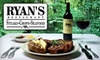 Ryan's Restaurant - Winston-Salem: $25 for $50 Worth of Fine Dining at Ryan's Restaurant in Winston-Salem