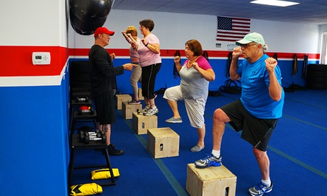 Three or Six Sessions of Fitness Training for Adults 55+ at FitREV Studio (Up to 80% Off) 3c752829-bd19-4d2b-bb7e-c035a09b711a