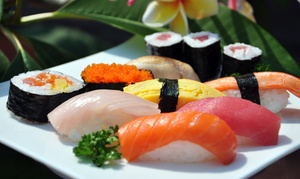 Ayama Japanese Fusion Cuisine: $30 for a Prix-Fixe Sushi Dinner for Two with Wine at Ayama Japanese Fusion Cuisine ($62 Value)