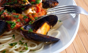 Porto Bello Restaurant: Italian and Portuguese Cuisine at Porto Bello Restaurant (Up to 36% Off). Three Options Available.