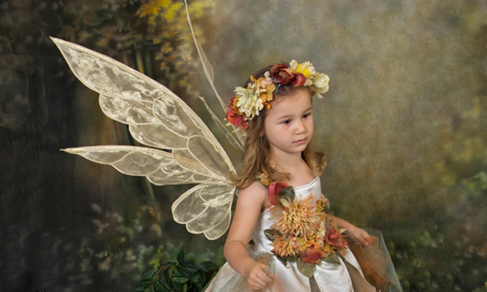 Fairy Portrait Studios - Clearwater: $49 for 30-Minute Fairy Photo Shoot and 8.5x11 Glow-in-the-Dark Portrait at Fairy Portrait Studios ($249 Value)