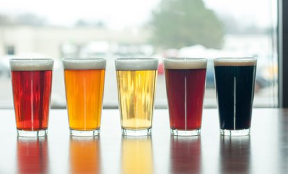 image for Tasting Flight at Kickstand Brewing Company (Up to 38% Off). Three Options Available.