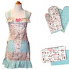 100% Cotton Apron Sets (9-Piece)