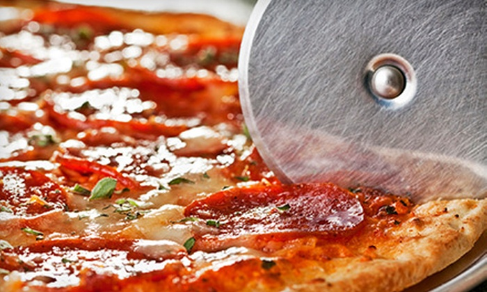 The Pizza Machine & Co. - Gallatin: The Pizza Machine & Co. – $20 for Two Vouchers, Each Good for $20 Worth of Pizza and Italian Food ($40 Value)