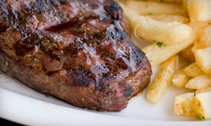 Shevy's Sports and Steaks - Elkhorn: $10 for $20 Worth of Steaks, Gyros, and Drinks at Shevy's Sports and Steaks