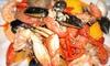 Crabaholic - San Jose: $12 for $20 Worth of Cajun Seafood and Drinks at Crabaholic, Inc.