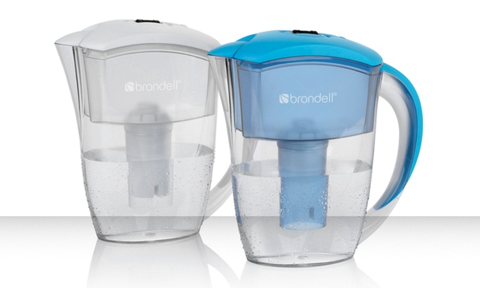 H2O+ Water-Filtration Pitcher with 4 Replacement Filters: H2O+ Water-Filtration Pitcher with 4 Replacement Filters in Blue or White. Free Shipping and Returns.