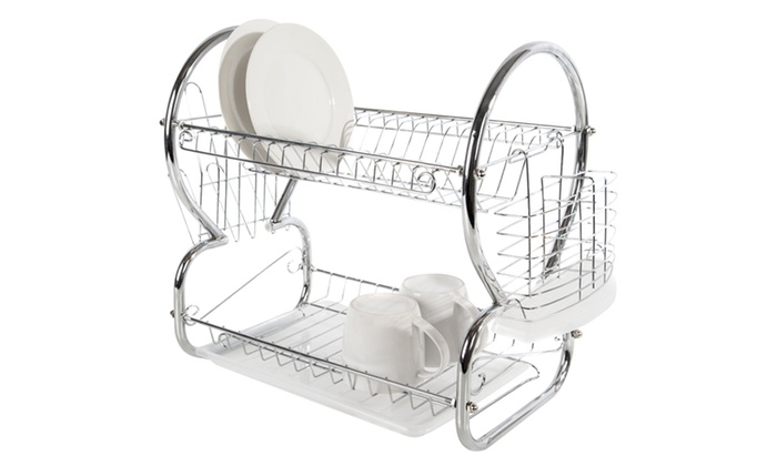 Groupon Goods Global GmbH: Cook In Colour Dish Drainer for £14.99 With Free Delivery (50% Off)