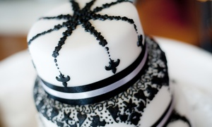 B350 Degrees Pastry Shop: $55 for $100 Worth of Custom Wedding Cakes at B350 Degrees Pastry Shop