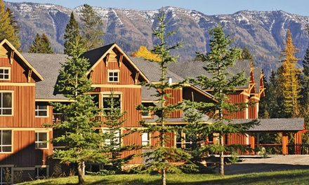 Groupon Deal: 2-Night Stay for Four at Timberline Lodges in Fernie, BC. Combine Up to 4 Nights.