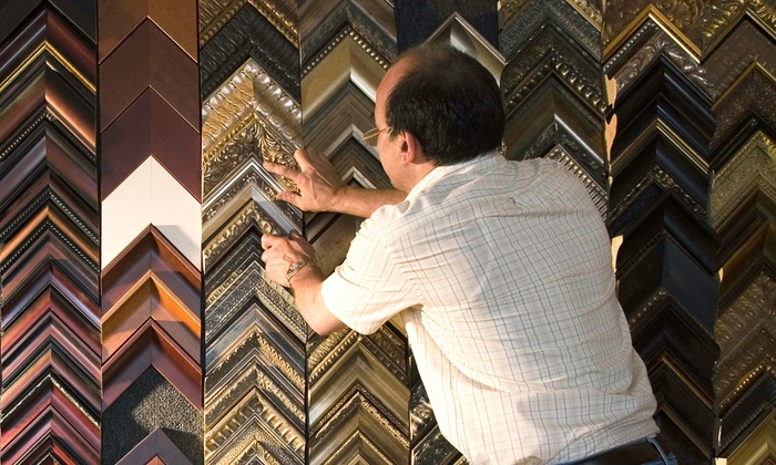 Double Wings Art - Markham: Custom Framing at Double Wings Art (Up to 71% Off). Two Options Available.
