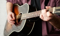 Up to Four One-Hour Guitar, Bass or Drum Lessons at Waithe Studios (Up to 78% Off)