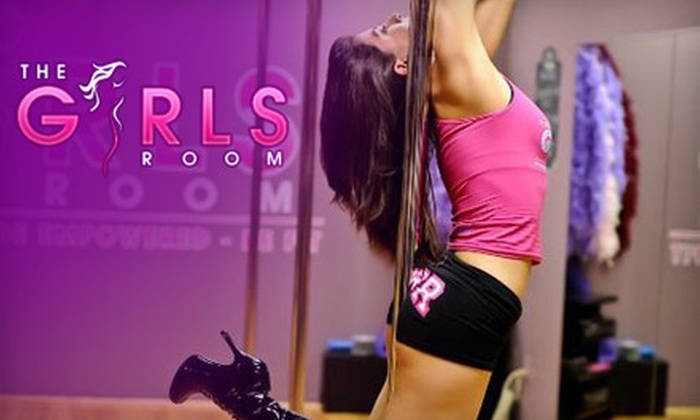 The Girls Room - Multiple Locations: $25 for Two Pole-Fitness Classes at The Girls Room ($50 Value).