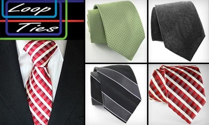 Loop Ties: $12 for $25 Worth of Ties from Loop Ties