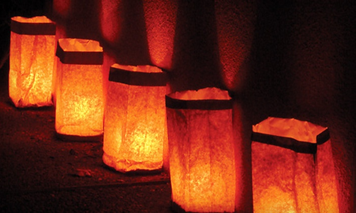 Tucson Botanical Gardens - Midtown: Luminaria Nights Visit for Two Adults at the Tucson Botanical Gardens on December 2, 3, or 4 (Half Off)
