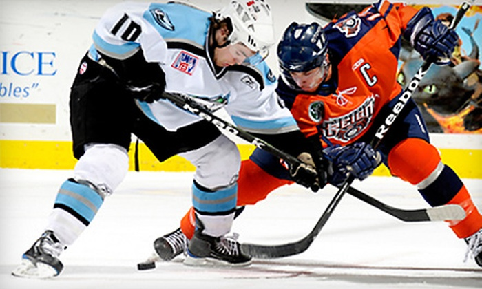 Ontario Reign - Ontario: $23 for Two Tickets to an Ontario Reign Hockey Game at Citizens Business Bank Arena ($46 Value)