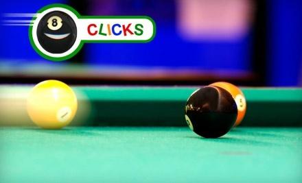 Clicks Billiards - Clicks Billiards in El Paso