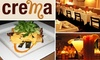 Crema Restaurante - Chelsea: $20 for $50 Worth of Fine Mexican Cuisine at Crema