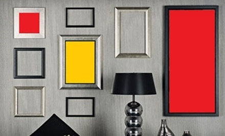 $70 Groupon for Custom-Framing Services - Art and Frame World in Maple Grove