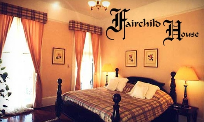 Fairchild House Bed & Breakfast - Lower Garden District: $49 for a One-Night Stay and Breakfast (Up to $149 Value) or $99 for a Two-Night Stay and Breakfast (Up to $298 Value) at Fairchild House Bed and Breakfast