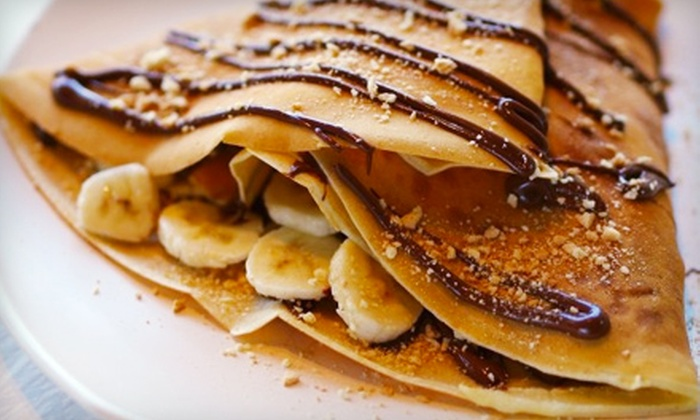 De La Crepe - Streetsville: $13 for a Crepe Meal for Two at De La Crepe in Mississauga ($26.47 Value)