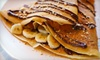 Half Off Crepe Meal for Two in Mississauga