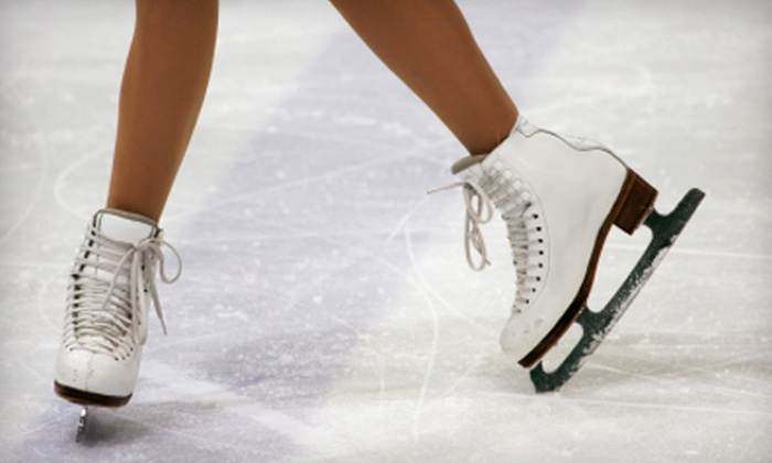 Ice Skate USA - Memorial: Half Off All-Day Ice Skating at Ice Skate USA. Three Options Available.