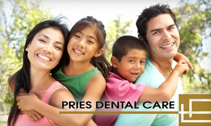 Pries Dental Care - West Valley: $99 for a Dental Exam, Cleaning, X-Rays, and a Custom Whitening Kit at Pries Dental Care ($682 Value)