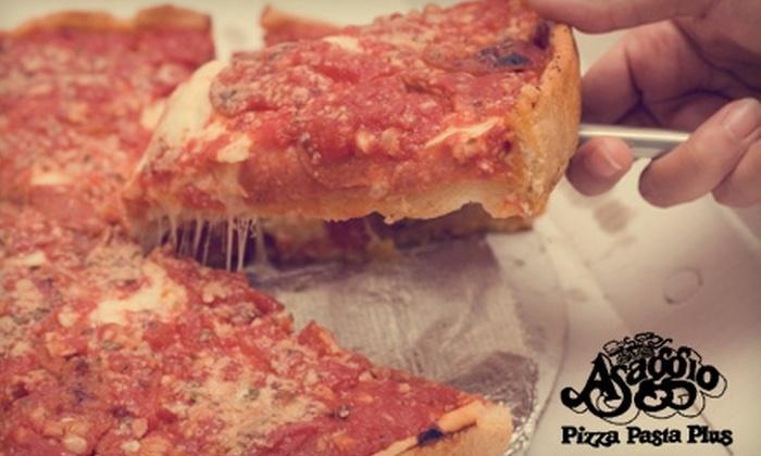 Asaggio Pizza Pasta Plus - Marina: $10 for $25 Worth of Chicago-Style Pizza and More at Asaggio Pizza Pasta Plus