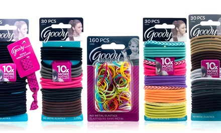 goody ouchless hair elastics groupon goods