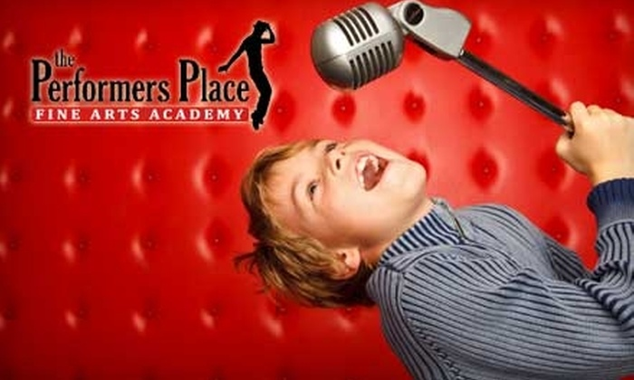 The Performers Place Fine Arts Academy - Lehi: $20 for One Month of One-Hour Classes at The Performers Place Fine Arts Academy in Lehi ($65 Value)