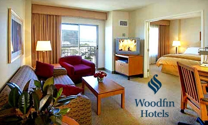 Woodfin Hotel Emeryville - Emeryville: $69 for a One-Night Stay in a Traditional Room (Up to $139 Value) or $114 for a Two-Bedroom Suite (Up to $230 Value) at Woodfin Hotel Emeryville