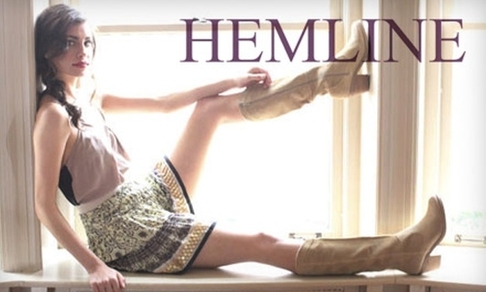Hemline - Country Club Plaza: $45 for $100 Worth of Contemporary Women's Apparel at Hemline