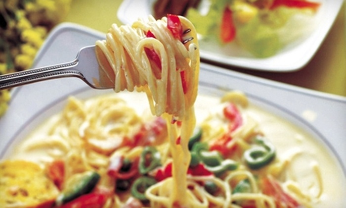 Pino's Authentic Italian and Pizza Restaurant - Maplewood - Oakdale: $15 for $30 Worth of Italian Dinner Fare at Pino's Authentic Italian and Pizza Restaurant in Oakdale (or $7 for $15 Worth of Lunch)