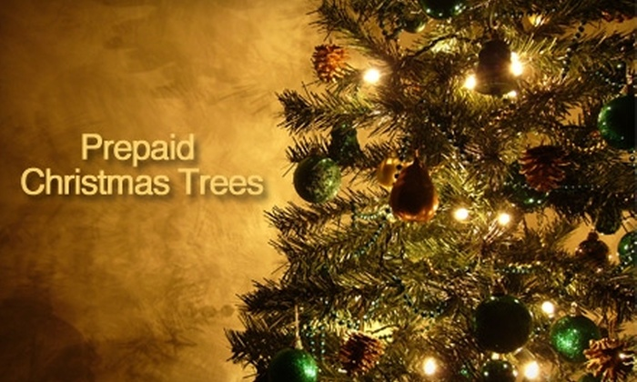 Prepaid Christmas Trees - Millcreek: $35 for a 6' to 7' Freshly Cut Noble Fir Christmas Tree from Prepaid Christmas Trees ($76.50 Value)